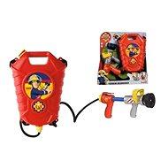 Simba Feuerwehrmann Sam mit Feuerlöscher auf dem Rücken - Wasserpistole