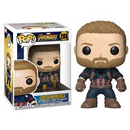 Funko Pop Marvel: Infinity War - Captain America - Figur