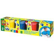 SES Kreativ-Set Fingerfarben 4 x 150 ml - Kreativset
