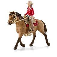Schleich 42112 Westernreiter zu Pferd - Figuren