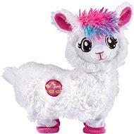 Tanzendes Lama - weiß - Stoffspielzeug