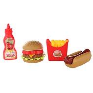 Set von Fast-Food-Gerichten - Spielset