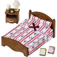Sylvanian Families Möbel - Doppelbett mit Nachttisch - Spielset