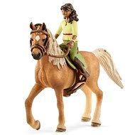 Schleich 42517 Brünette Sarah und Pferd Mystery - Figur