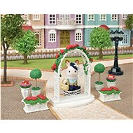 Sylvaian Familie Town Series - Gartenset mit Torbogen