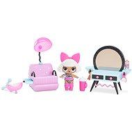 L.O.L. Möbel mit einer Puppe - Friseursalon und Diva