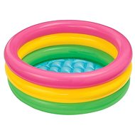 Schwimmbecken 3 rund, für Kinder 86 x 25 cm - Aufblasbarer Pool