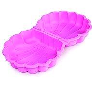 Paradiso Sandmuschel mit rosa Deckel - Sandkasten