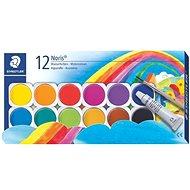 Staedtler Noris Club Wasserfarbmalkasten 12 Farben - Aquarell-Farben