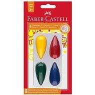 Faber-Castell Plastikkreiden in 4 Farben