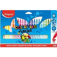 Fixy Maped ColorPeps Dschungel, 24 Farben - Filzstifte