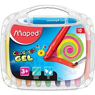 Maped Color Peps Gel, 10 Farben - Buntstifte