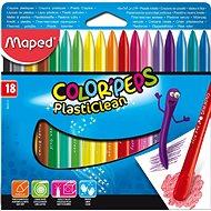 Maped Color Peps Plasticlean, 18 Farben - Bundstifte