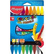 Buntstifte Maped Color Peps Öl-Farben, 18 Farben - Bundstifte