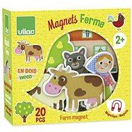 Vilac Holzmagnete Farm 20 Stück - Spielset