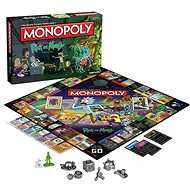 Monopoly Rick and Morty, ENG - Gesellschaftsspiel