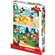 Mickey treibt Sport - Puzzle