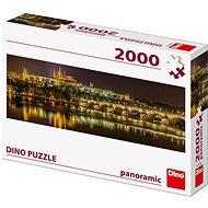 Karlsbrücke bei Nacht - Panoramic - Puzzle