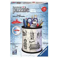 Ravensburger 3D 112265 Bleistiftständer Zeichnung von Prag - 3D Puzzle
