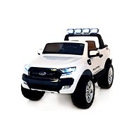 Ford Ranger Wildtrak 4x4 LCD Luxus, weiß - Elektroauto für Kinder