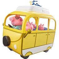 Peppa Pig - Wohnwagen mit Zubehör + 4 Figuren - Figuren-Zubehör