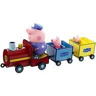 Peppa Pig on Grandpa Pig's Train - Zug + 3 Figuren - Figuren-Zubehör