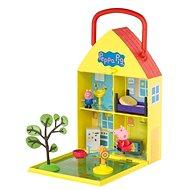 Peppa Pig - Haus mit Garten + Figuren und Zubehör - Figuren-Zubehör