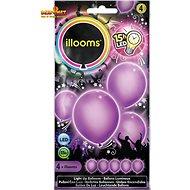 LED Ballons - lila 4 Stück - Spielset