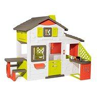 Smoby Kinderspielhaus Neo Friends House mit Küche - erweiterbar - Kinderspielhaus