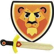 Vilac Holzschild und Löwenschwert - Spielzeugwaffe