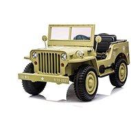 Elektroauto US ARMY 4x4 - beige - Elektroauto für Kinder