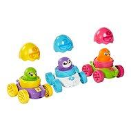 Toomies - Pinguin-Rennfahrer im Ei - Spielzeug für die Kleinsten