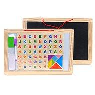 Magnettafel mit Buchstaben und Zahlen - Magnettafel