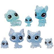 Littlest Pet Shop Tiere aus dem Eisreich 7tlg - blau - Spielset