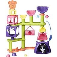 Littest Pet Shop Katzenhaus mit einem Haustier - Spielset