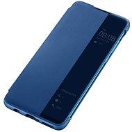 Huawei Original S-View Hülle Blue für P30 Lite - Handyhülle