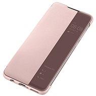 Huawei Original S-View Hülle Pink für P30 Lite - Handyhülle