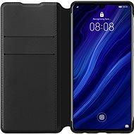 Huawei Original Wallet Case Black für P30 Pro - Handyhülle