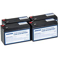 Avacom Battery Kit für RBC59 Renovierung (4 Stück Batterien) - Laptop-Akku