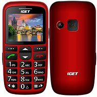 iGET Simple D7 Rot - Handy