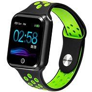 IMMAX SW10 schwarz-grün - Smartwatch