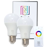 Immax Neo LED E27 A60 8,5W 2 Stück + Fernbedienung - LED-Lampe