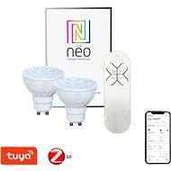 Immax Neo LED GU10 / 230V 4,8W 2Stk. + Fernbedienung - LED-Lampe