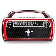 ION Mustang Stereo Red - Bluetooth-Lautsprecher