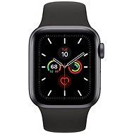 Apple Watch Series 5 40mm Space Grey Aluminium mit schwarzem Sportarmband - Smartwatch