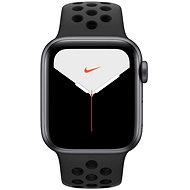 Apple Watch Series 5 Nike+ 40 mm Space Grey Aluminium mit Nike Sportarmband in Anthrazit/Schwarz - Smartwatch