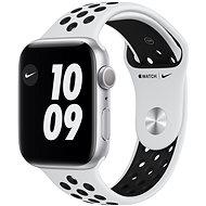 Apple Watch Nike Series 6 - 40 mm - Aluminium in Silber mit platin/schwarzem Nike Sportarmband - Smartwatch