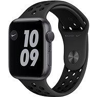 Apple Watch Nike Series 6 - 40 mm - Aluminium in Space Grey mit anthrazit/schwarzem Nike Sportarmband - Smartwatch