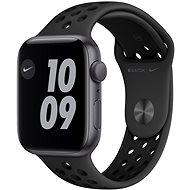 Apple Watch Nike SE 44 mm Space Grey Alugehäuse mit Nike Sportarmband in Anthrazit/Schwarz - Smartwatch