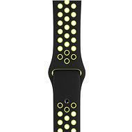 Apple Sport Nike 42mm/44mm Schwarz/Volt - Uhrband
